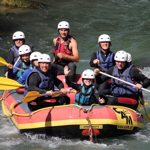 Soft Rafting Möll Kärnten Österreich