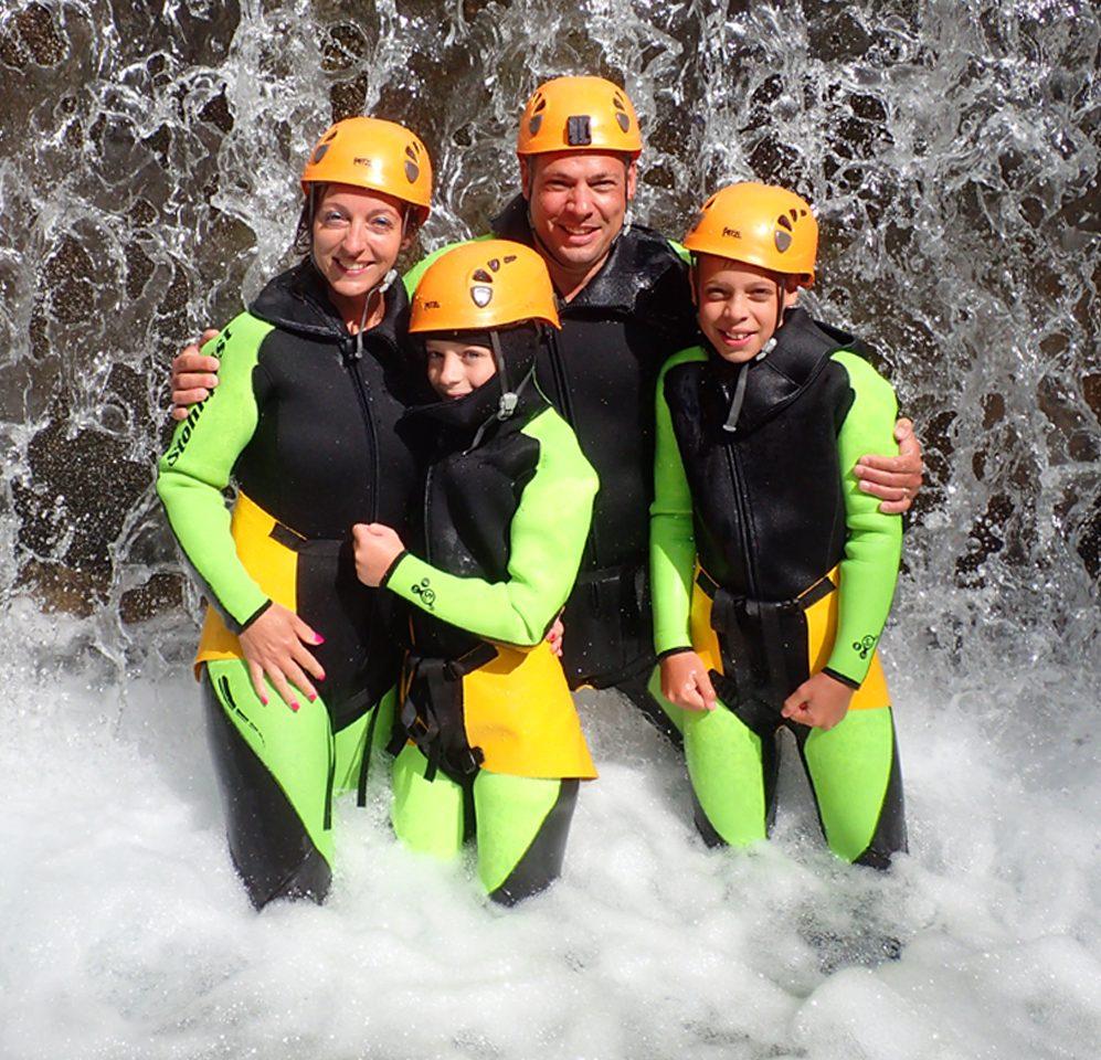 Familien Canyoning Kärnten Mölltal