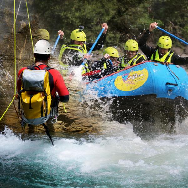 Rafting Canyoning Sportkombi