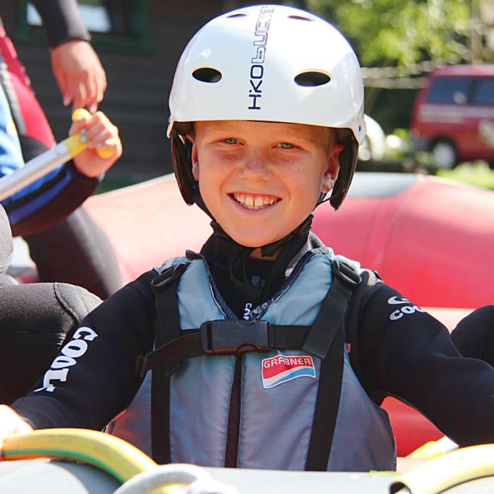 Kinder Rafting Kärnten