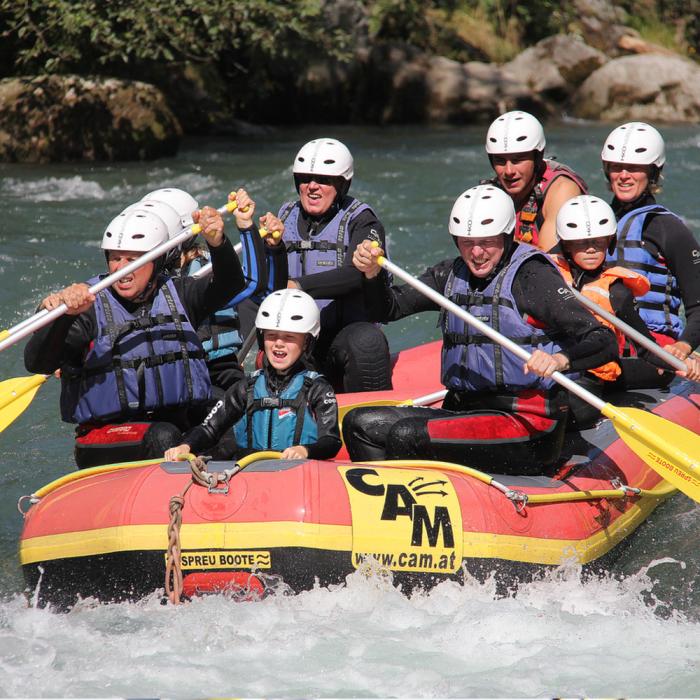 Fun Rafting Möll Kärnten