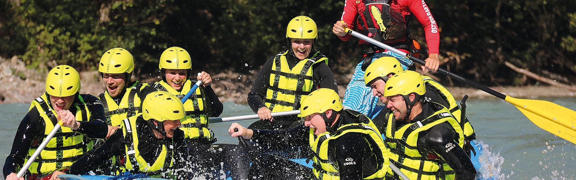 CAM & COOL`S - Kärnten Rafting