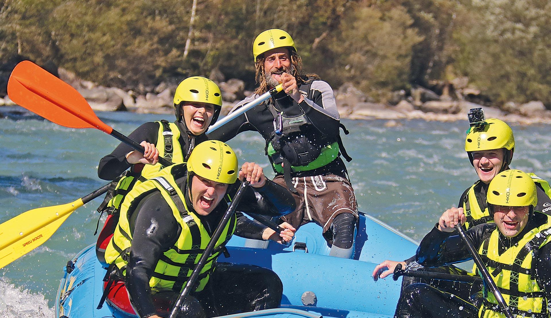 Rafting Kärnten Mölltal Österreich