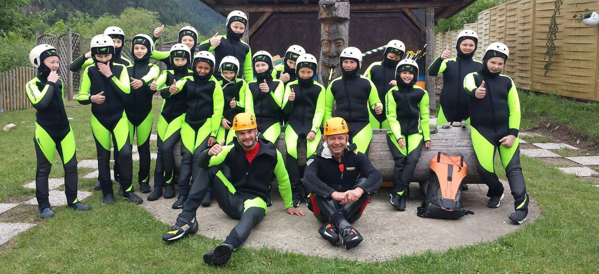 Canyoning Schulsportwoche by CAM & COOL`S - Kärnten Rafting