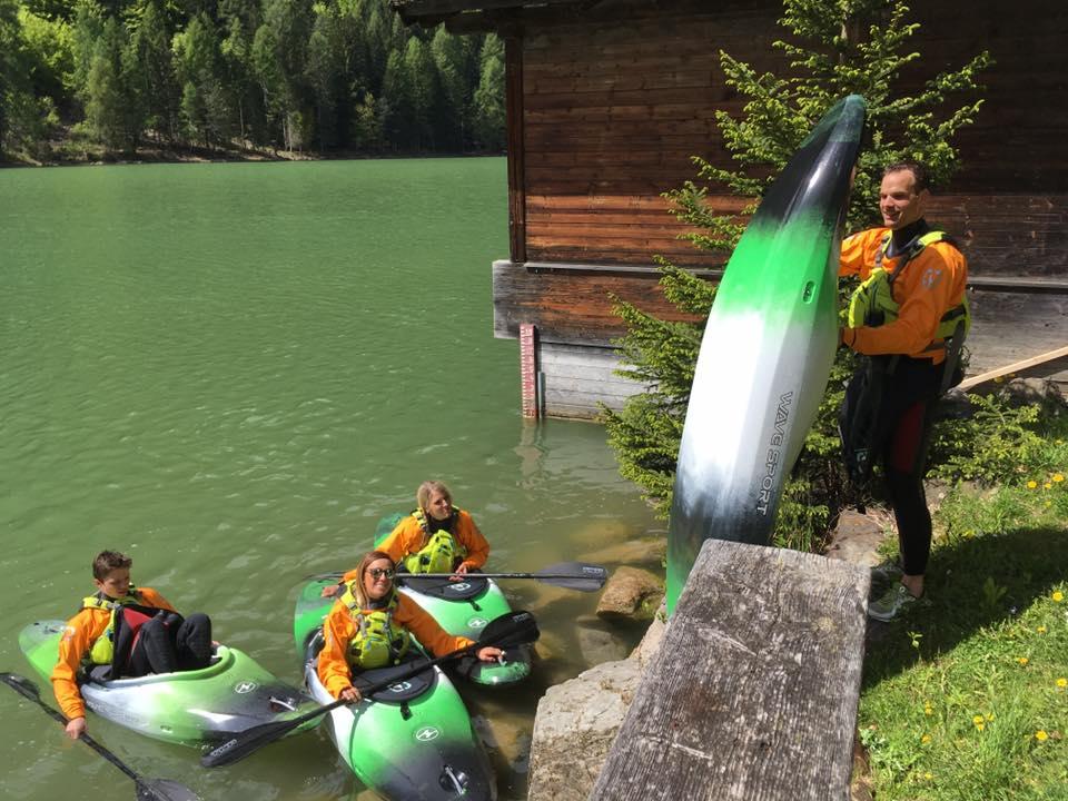 Kajak Kurs CAM & COOL`S - Kärnten Rafting