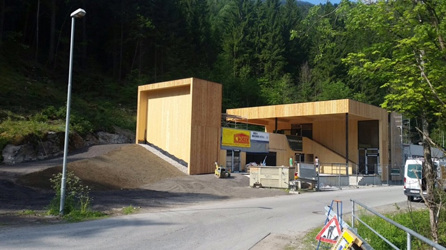 Center of Outdoor Lienz Baustelle