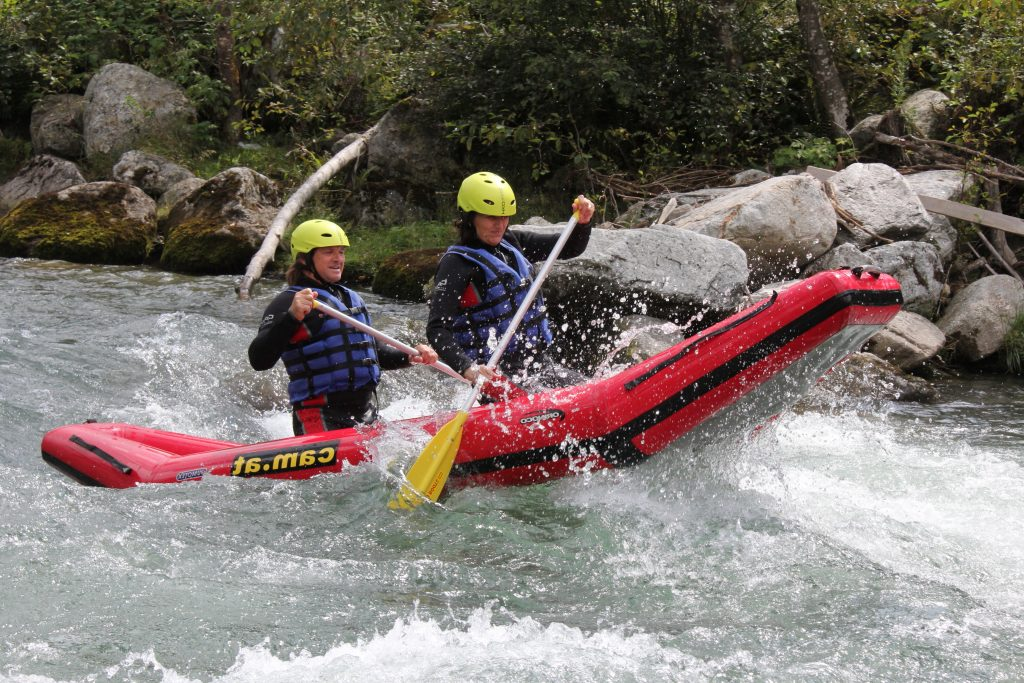 Canadier Tour CAM & COOL`S - Kärnten Rafting