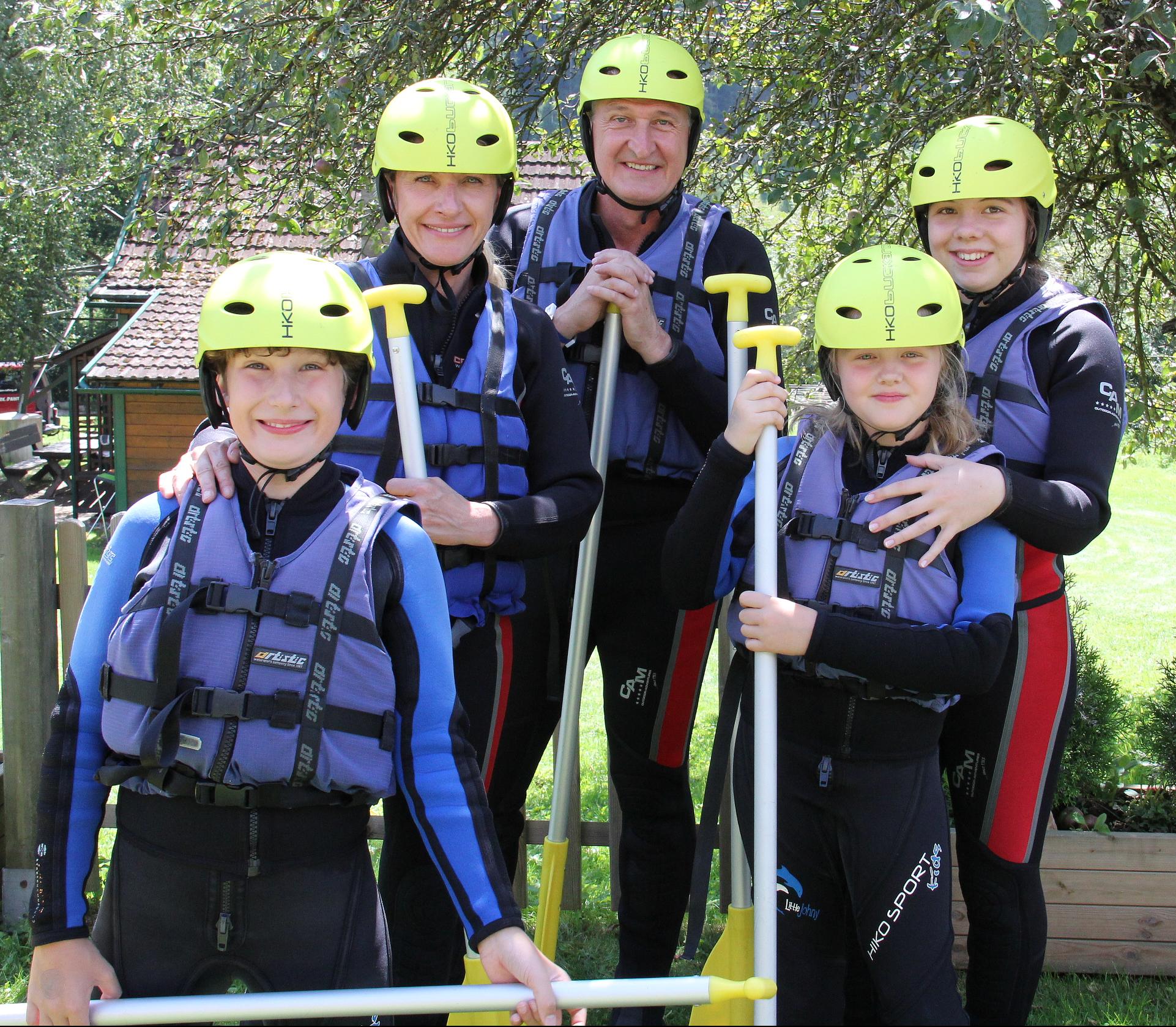 Familien Rafting Kärnten