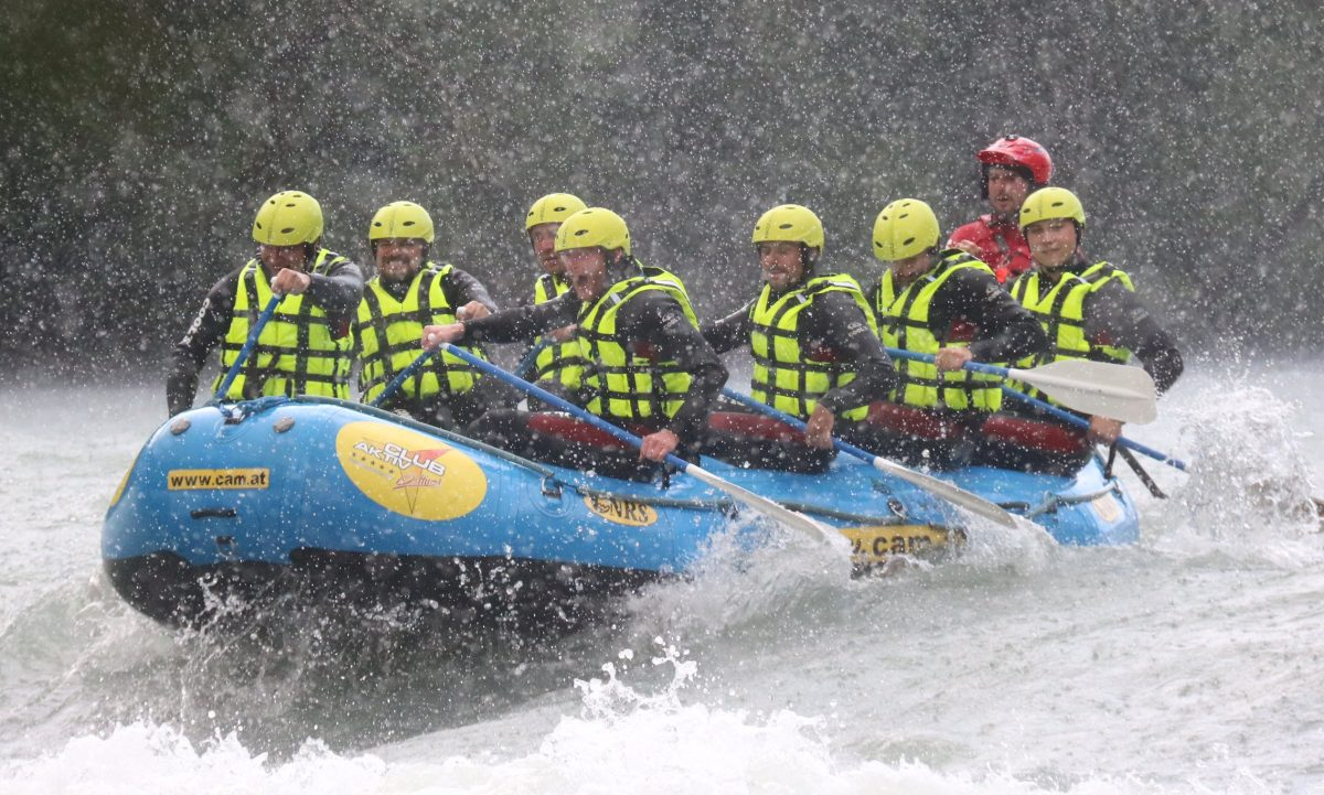 Rafting Isel Regen