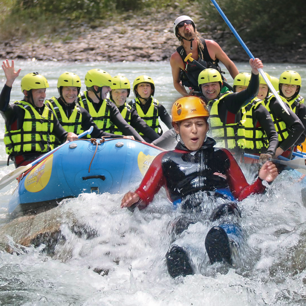 Rafting-Canyoning Actionkombi